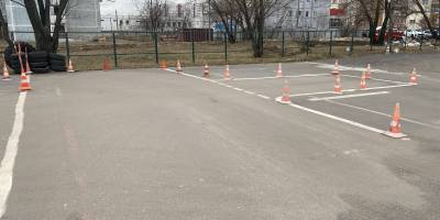 Автодром автошкола A B C D E