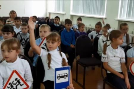 Две тысячи первоклассников Ставрополя стали участниками уроков-практикумов по ПДД в рамках всероссийской Недели безопасности